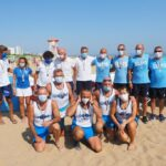Incoronati i campioni d'Italia Master nel rowing beach sprint